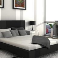 Black Grey Yellow Bedroom Decosee