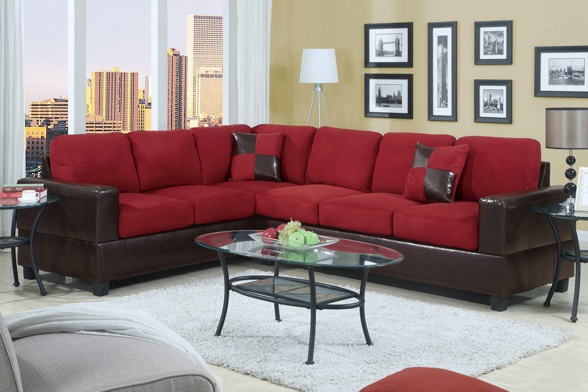 red sectional sofa decoratorist 41640