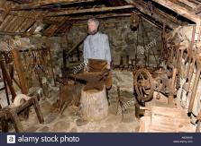 Blacksmith Old Smithy Tools Traditional