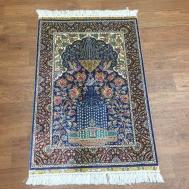 Blue Classic Persian Oriental Genuine Handcraft