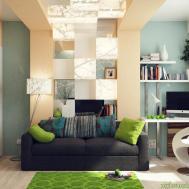 Blue Interior Design Office Decosee