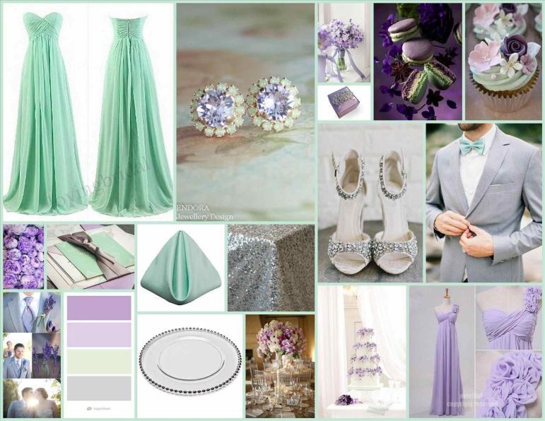 Blue Pink Royal Hot Color Spring Wedding Colors