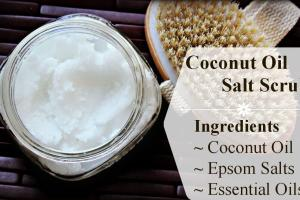 Body Scrub Diy Gallant Coconut