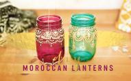Bohemian Room Decor Diy Moroccan Lanterns