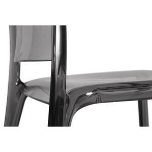Bonsoni Modern Iconic Styling Stackable Translucent