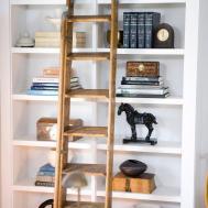 Bookshelf Wall Shelf Decorating Ideas Interior