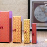 Boxes Vincent Charming Colourful Pib