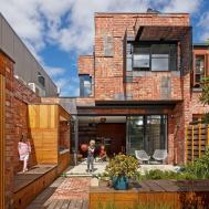 Brick Houses Form Bridge Between Past Present