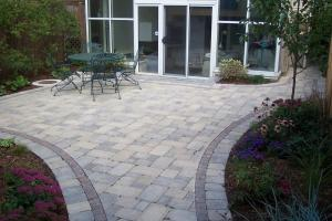Brick Patios Designs