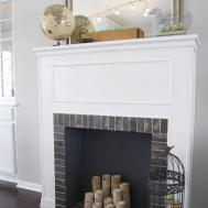 Build Faux Fireplace