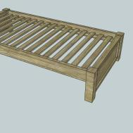 Build Platform Bed Frame Headboard Quick