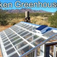 Build Underground Sunken Greenhouse Year