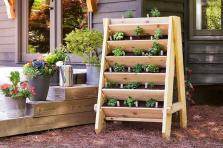 Build Vertical Herb Lettuce Planter
