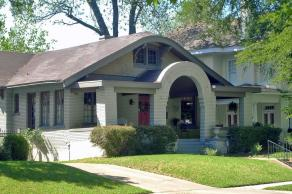 Bungalow Curved Gable Roof Fairmount Historic Distri