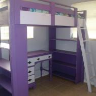 Bunk Bed Desk Underneath 8730