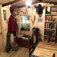 Cabin Bedroom Decorating Ideas Unique Log