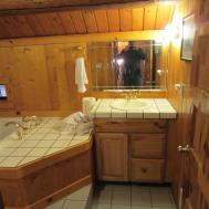 Cabin Themed Bathroom Home Design