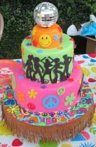 Cakes 70s Birthday Cake