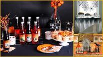 Candy Cake Halloween Dessert Table Inspiration