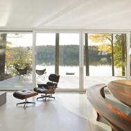 Cantilever Lake House Birdseye Design Karmatrendz
