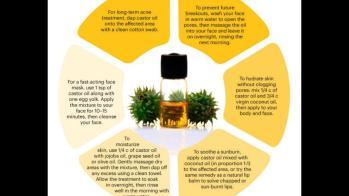 Castor Oil Skin Stretch Mark Creams