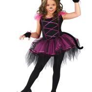 Catarina Kids Halloween Costume Cutest Kitty Ballerina