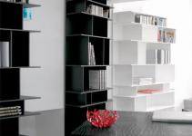 Cattelan Italia Wally Tall 650 Modular Bookcase