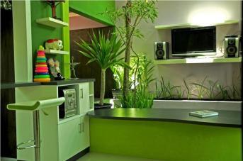 Cawah Homes Modern Green Blending Design Gayuh