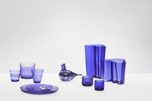 Celebrating Finland 100 Iittala Ultramarine Blue