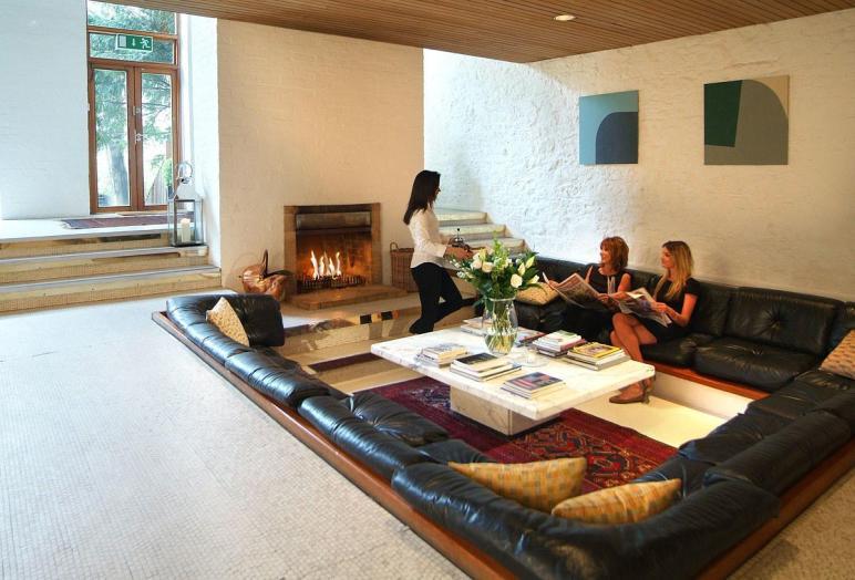 Centered Conversation Social Pit Sunken Sitting Areas