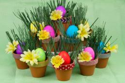 Centerpieces Easter Craft Paas Eggs
