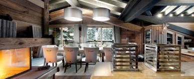 Chalet Petit Chateau Ski Courchevel 1850 France