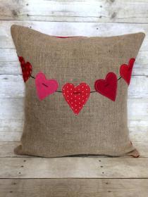 Charming Handmade Valentine Day Pillow Designs