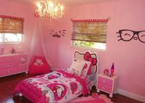Charming Hello Kitty Girl Bedroom Idea Decoist