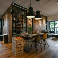 Charming Industrial Loft New Taipei City Idesignarch