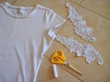Chic Compass Diy Shirt Makeover