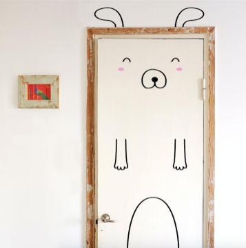 Chic Deco Funny Doors Piensa