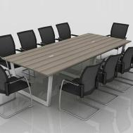 China Direct Sale Office Training Desk Melamine