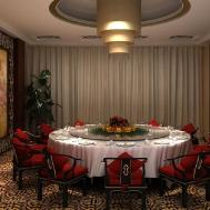 Chinese Style Dining Room Renovation Interior Design