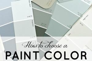 Choose Paint Color 2017 Grasscloth