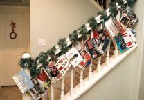 Christmas Card Display Ideas Organised Housewife