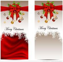 Christmas Card Electronic Template Design
