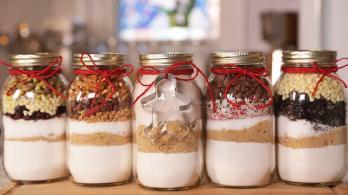 Christmas Cookies Jar Domestic Geek