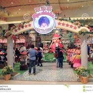 Christmas Decoration Shopping Mall Editorial