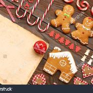 Christmas Homemade Gingerbread Cookies Handmade Decoration