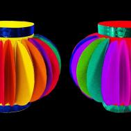 Christmas Paper Lantern Crafts Easy Diy Lights