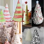 Christmas Tree Craft Ideas Diy Tabletop