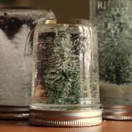 Christmas Tree Mason Jars Allfreeholidaycrafts