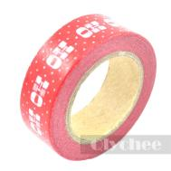 Christmas Washi Tape Scrapbooking Craft Diy Paper Sticky