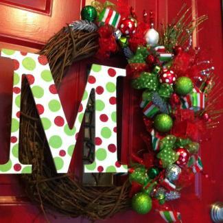 Christmas Wreaths Modern Wreath